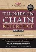 Thompson Chain Reference Study Bible New King James Version, Brown, Personal Size