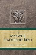 Maxwell Leadership Bible NKJ, Brown