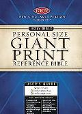 Holy Bible New King James Version, Burgundy, Personal Size Giant Print Reference Bible