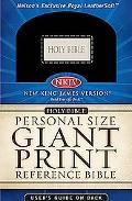 Personal Size Giant Print Reference - Nelson Bibles - Other Format