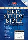 Nelson's Study Bible New King James Version, Burgundy, Bonded Leather