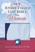 New Spirit-filled Life Bible for Women New King James Version, Blue/blue, Imitation Leather