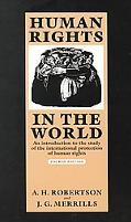 Human Rights in the World: An Introduction to the Study of the International Protection of H...
