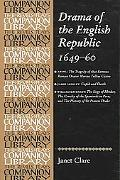 Drama of the English Republic, 1649-60