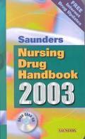 Saunders Nursing Drug Handbook 2003