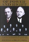 Of Power and Right: Hugo Black, William O. Douglas, and America's Constitutional Revolution