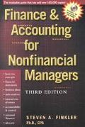 FINANCE & ACCTG FOR NONFINANCIAL MANAGERS (W/CD) (P)