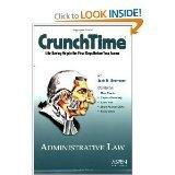 Administrative Law (Crunchtime)