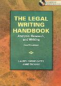 Legal Writing Handbook Analysis, Research And Writing