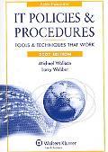 It Policies & Procedures, 2007 Tools & Techniques That Work