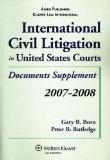 International Civil Litigation in United States Courts: Document Supplement