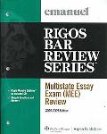 Multistate Essay Exam (Mee) Review