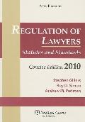 Regulation Lawyers: Statutes Standards 2010 Stat Supp Concise Ed