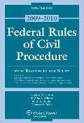 Federal Rules of Civil Procedure W/ Study Resources 09-10 Stat Su