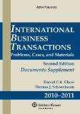 International Business Transactions 2010-2011 Supplement