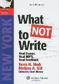 What Not to Write : Ny Bar Exam Essay Book