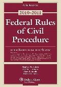 Federal Rules Civil Procedure W/ Study Resources 2010-2011