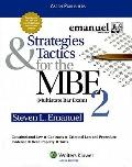 Strategies & Tactics for the MBE, Volume 2