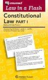 Law in a Flash Cards: Constitutional Law I