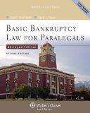 Basic Bankruptcy Law for Paralegals (Abridged), 2nd Edition (Aspen College)