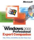 Microsoft Windows 2000 Professional Expert Companion