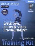 MCSA/MCSE Self-Paced Training Kit (Exam 70-290): Managing and Maintaining a Microsoft  Windo...