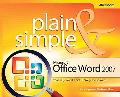 Microsoft Office Word 2007 Plain & Simple