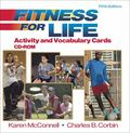 Fitness for Life Activity and Vocabulary Cards CD-ROM-5th Edition