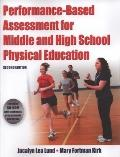 Performance Based Assessment for Middle and High School Physical Education