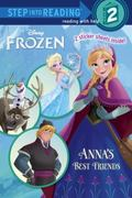 Frozen DVD Step into Reading with Stickers (Disney Frozen)