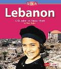 Lebanon A Question and Answer Book