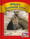 Where Animals Live (Phonics Readers)