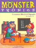 Monster Phonics: Consonant Blends & Digraphs for Grades 1-2