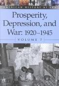 Prosperity, Depression, and War 1920-1945