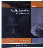 Public Speaking in the Information Age University of Tennessee-knoxville