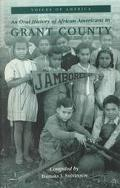 Oral History of African Americans in Grant County