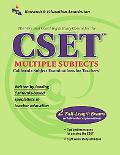 Best Teachers' Test Preparation For The Cset Multiple Sujects, California Subject Examinatio...
