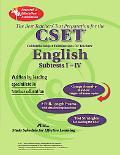 CA CSET English Subtests I-IV