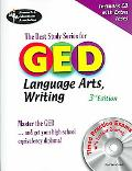 Ged Language Arts, Writing Rea The Best Test Prep for the Ged