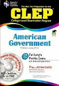 CLEP American Government W/CD (REA) - the Best Test Prep for the CLEP