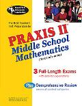 Best Teachers' Test Preparation for the Praxis II Middle School Mathematics Test (Test Code ...