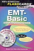 EMT-Basic Interactive Flashcards w/ CD-ROM (REA)