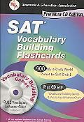 SAT Vocabulary Building Flashcard Book W/ CD-ROM (Rea)