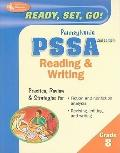 Ready, Set, Go! PA PSSA 8th Grade Reading & Writing (REA), Second Edition (Test Preps)