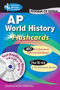 AP World History Premium Edition Flashcard Book with CD