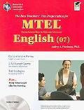 Massachusetts MTEL English w/TestWare (Test Preps)
