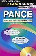 PANCE (Physician Assistant Nat. Cert Exam) Flashcard Book (REA)