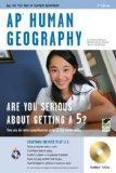 AP Human Geography w/ CD-ROM (REA) (REA Test Preps)