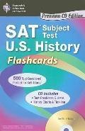 SAT Subject Test: U.S. History Flashcards Premium Edition  (REA)
