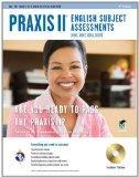 Praxis II English (0041, 0042, 0043, 0049) w/CD 2e (Test Preps)